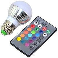 LED ampul, ampuller E26/E27Çok akıllı G951yüksek performans 240lm RGB K kısılabilir uzaktan kumandalı AC 85–265V Long Life