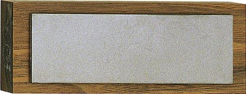 EZE-LAP 62F 2 by 6 Fine Diamond Stone on a Walnut Pedestal