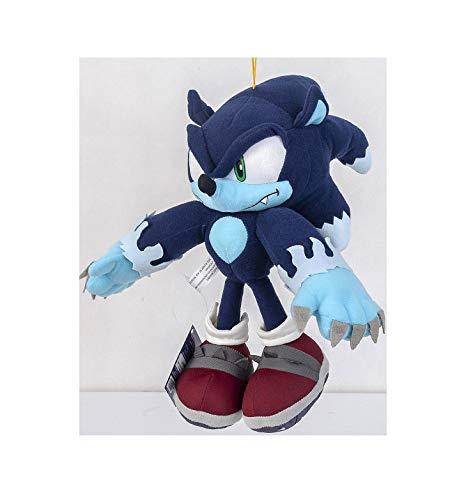 Ssonnicc The Hedgehog Werehog Plush Doll Stuffed Animal Figure Toy Character 11.9'' Love Gift