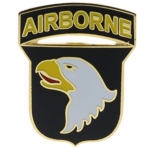 Popular Enamel Lapel pins - US Army 101st Airborne Division Vietnam Hat or Lapel Pin - Fashion Pins and Brooches