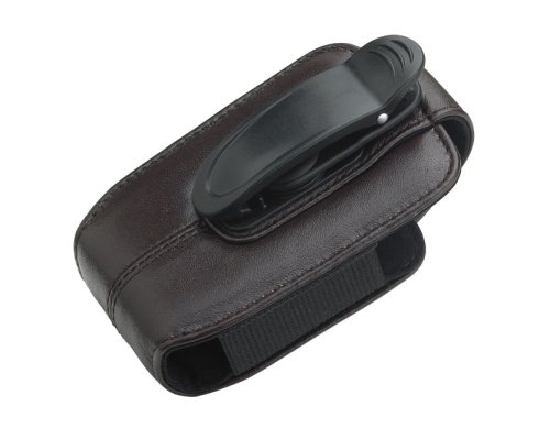 OEM BlackBerry 8800 Koskin Leather holster w/ belt clip HDW-13789-001 - Black