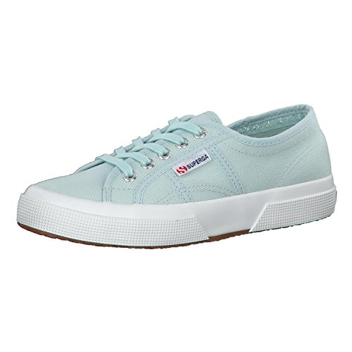 Superga Women 2750-Cotu Classic Sneakers Light Blue in Size US 9