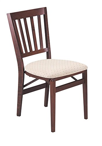 Schoolhouse Folding Chair in Warm Cherry Finish - Set of 2