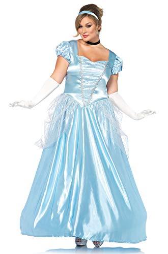 Leg Avenue Women's Plus Size Classic Cinderella Princess
