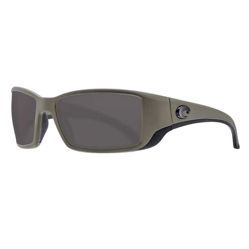 Costa Blackfin 580P Polarized Sunglasses (Moss Frame/Gray 580P) by Costa