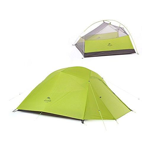 Tente 3personnes ultraleicht Outdoor Camping Tente étanche Tente de randonnée