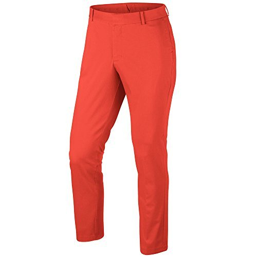 2017 Nike Modern Fit Washed Golf Pants Max Orange 34/32 (Nike Modern Fit Pants)