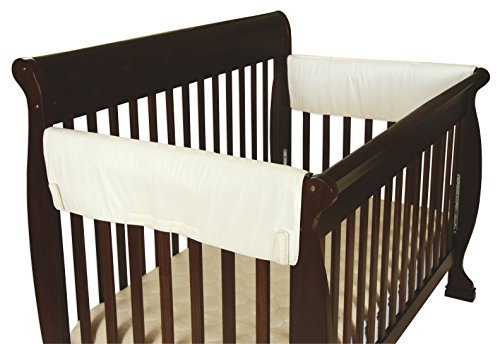 Easy Crib (Leachco Easy Teether XL Side Crib Rail Cover, 2 Pack, Ivory)