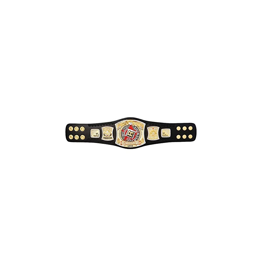 WWE Rated R Spinner Championship Mini Replica Title Belt