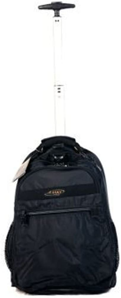 A.SAKS Deluxe Expandable Trolley Backpack
