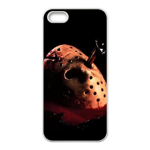 Friday The 13TH iPhone 4 4s Cell Phone Case White Protect your phone BVS_791544