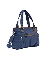 Lug Gallop Hobo Tote, Navy Blue, One Size