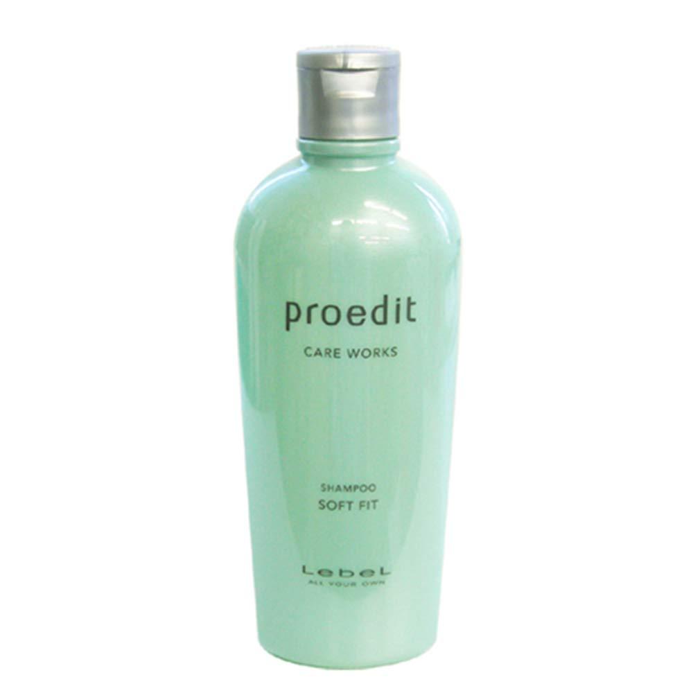 Lebel Proedit Care Works Shampoo Soft Fit - 300ml (Harajuku Culture Pack)