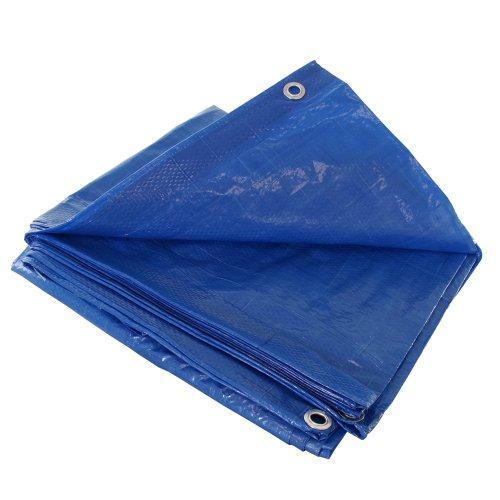 Blue 6x6 Heavy Duty UV Protected Treated Canopy Sun Shade...