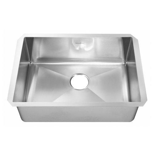 American Standard 12SB321800073 Prevoir Luxury Undermount 32-Inch Stainless Steel Single Bowl Kitchen Sink Brushed Satin