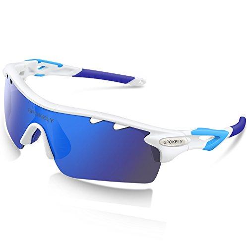 Sports Sunglasses Polarized Glasses For Women Man Cycling Running Fishing Golf Outdoor TR 90 Unbreakable - Revo Wayfarer