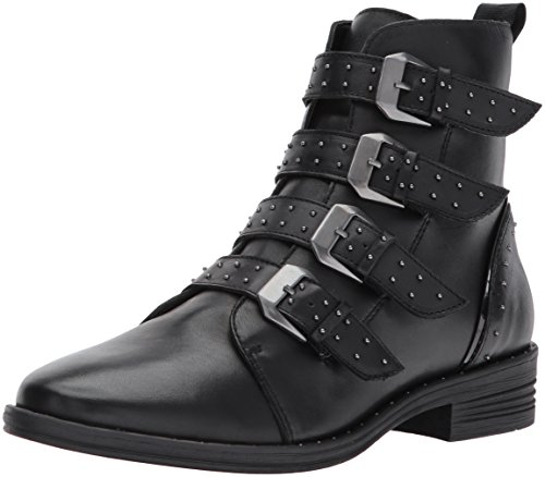Steve Madden Motorcycle Women's Black Pursue Boot rrz7wd