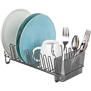 Amazon Com Dish Drying Rack Amp Microfiber Dish Mat Mini