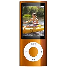Apple iPod nano 8 GB 5th Generation (Orange) (Discontinued by Manufacturer)