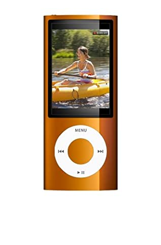 Apple iPod nano 16 GB - Orange (5th Generation) (Discontinued by Manufacturer) (16 Gb Ipod 5th Generation)