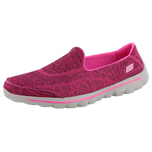 para caminar mujer Pink 2 Go optimista Skechers para zapatos Hot Walk O40WwXq