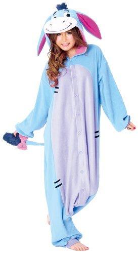 [Disney Kigurumi 3: Cute & Cuddly Pajamas / Street Wear (Direct from Japan) (Eeyore)] (Three Person Disney Costumes)