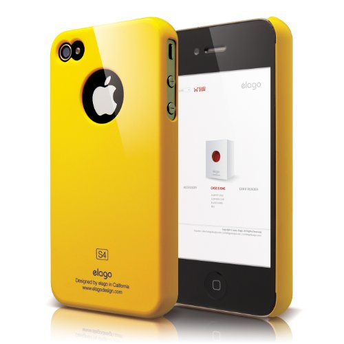 elago Verizon iPhone Protection Yellow