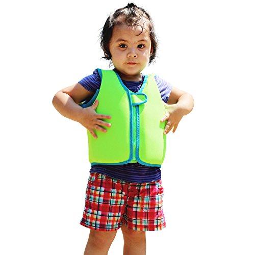 Children Swim Vest Kids Floatation Jackets Toddler Learn-to-Swim for Boys Girls