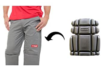 Burson work pants with built-in removable Super Cushion knee pads 36x30
