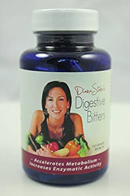Ultra Premium Digestion Detox - Hand Made - Activating Bitters - 100% Organic - Digestive Aid - Detox - Cleanse - Lose Weight - All Natural - 120 Capsules