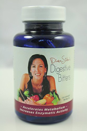 Ultra Premium Digestion Detox - Hand Made - Activating Bitters - 100% Organic - Digestive Aid - Detox - Cleanse - Lose Weight - All Natural - 120 Capsules by Diana Stobo