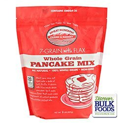 (7 Grain with Flax Pancake Mix Gmo-free 2#)