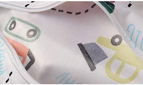 Grau 36cm Umweltschutz TPU+Tuch BIGBOBA Karikatur Baby Windelbeutel Aufbewahrungstasche Wasserdicht Atmungsaktiv Rei/ßverschluss Tasche Familie Im Freien Babyprodukte Windeln H/ängende Tasche 30