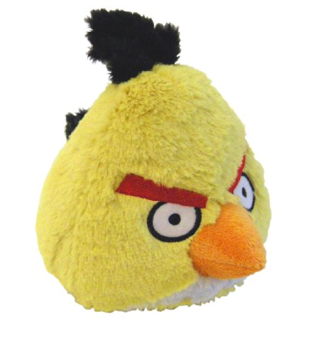Angry Birds Toys With Sound : Angry birds plush inch yellow bird with sound
