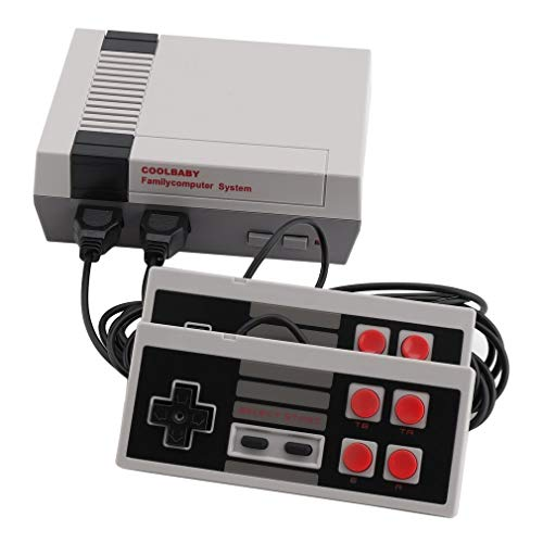 Simoner Classic Video Games Console, Family Handheld NES Console HDMI Built-in 600 Game Player with 2 Button Controllers from Simoner