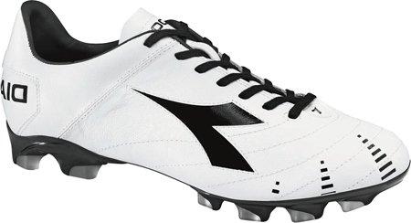 Diadora Mens Evoluzione Sneakers Légers Blanc / Noir