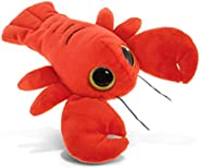 DolliBu Plush Lobster Stuffed Animal - Soft Fur Huggable Big Eyes Red Lobster Decor, Adorable Playtime Plush T