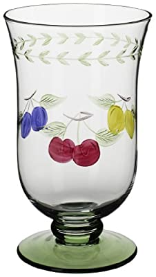 Villeroy & Boch French Garden Accessories 16-Ounce Ice Tea, Set of 4 Glass