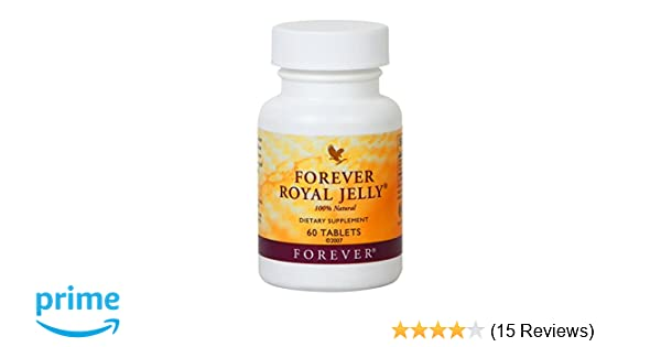 Amazon.com  Forever Living Forever Royal Jelly 100% Natural (60 Tablets)   Health   Personal Care a0b19f1f43f