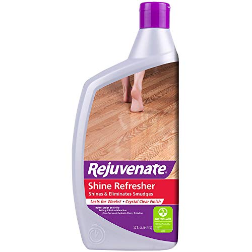 Rejuvenate Shine Refresher Polish Removes Scratches from Hardwood Floors Restores Shine and Protects Hardwood Laminate Linoleum Tile Vinyl and more