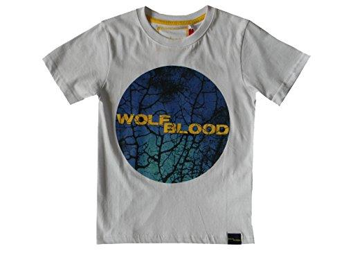 134 146 122 Acts À 140 bleu 152 128 Noir 140 T 98 zdf Loups Junior Manches blanc 104 Cm Courtes Blanc taille Wolfblood 134 shirt OqaHOA