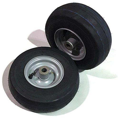 Set de 2 rueda neumático Asamblea 11 x 4.10 - 5 frontal Caster ...