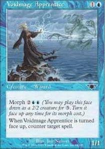 Apprentice Foil - Magic: the Gathering - Voidmage Apprentice - Legions - Foil