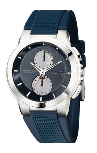 Kenneth Cole Men's KC1390 Reaction Navy Polyurethane Watch