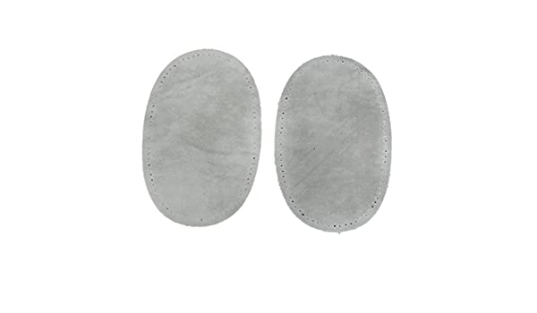 2 Colors Sew On Suede Oval Elbow Knee Patches for Sweater Pants Repair Craft