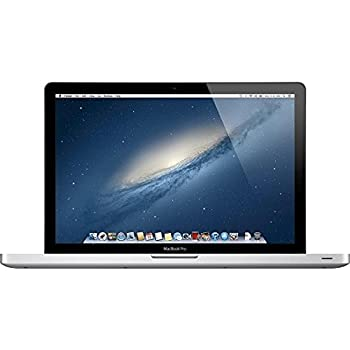 Apple MacBook Pro MD103LL/A 4GB RAM 500GB Hard Drive Intel Core i7, 15.4-Inch Laptop (OLD VERSION) (Refurbished)