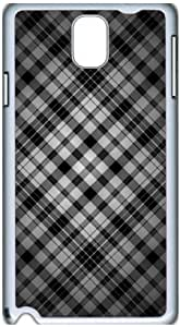 Fashion Designed Pattern Protevtive Hard Back Case Cover for Samsung Galaxy Note3 N9000 Gray Bars