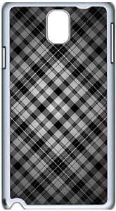 Fashion Designed Pattern Protevtive Hard Back Case Cover for Samsung Galaxy Note3 N9000 Gray Bars wangjiang maoyi