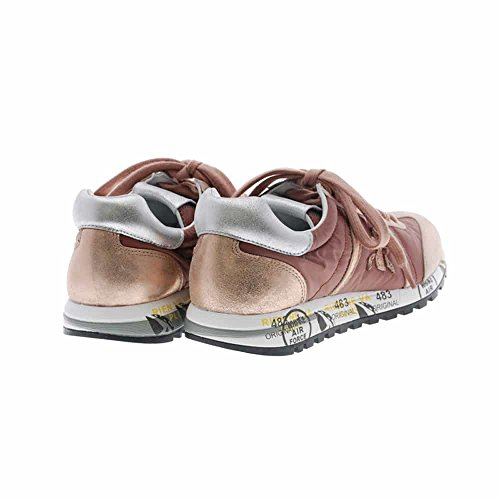 PREMIATA Sneakers Mujer Oro Rosa Casual Lucy-D 2492
