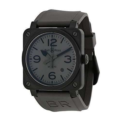 Bell-and-Ross-Commando-Grey-Dial-Grey-Rubber-Mens-Watch-R0392-COMMANDOCE